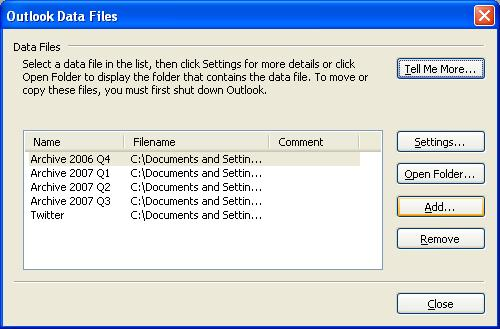 How to Create a .pst File   Arrow Tips- Brought to you by Advena ...