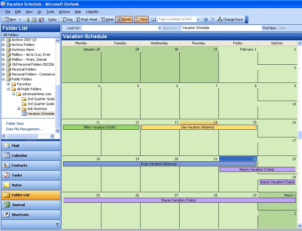 Arrow-Tip #20 Best Practices for Coordinating Vacation Schedules ...